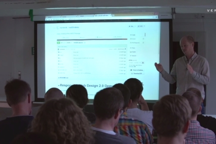 Responsive Design and the Modern Web Application – Frontend Meetup Aarhus