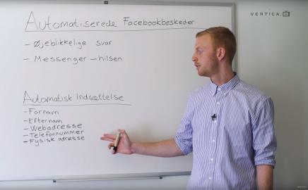 Automatisering af Facebook-beskeder