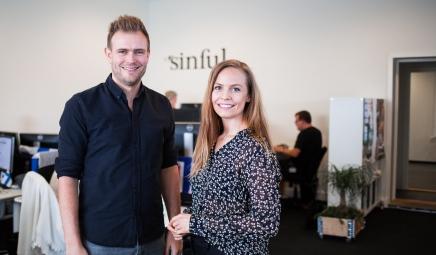 #9 Historien om Sinful.dk ved stifterne Mathilde Mackowski og Tonny Andersen (Sæson 2, #9 af10)